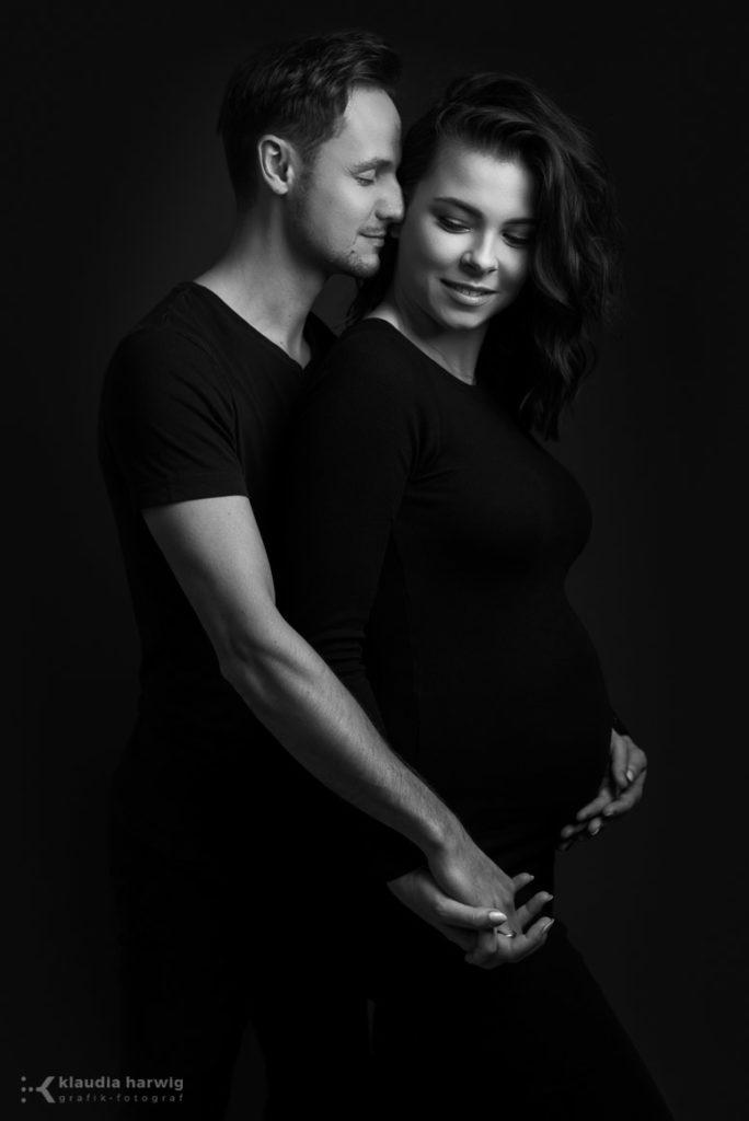 Sesja ciążowa z partnerem Katowice