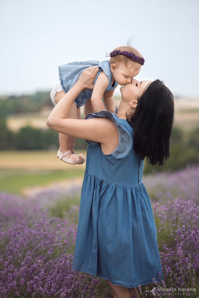 Sesja zdjęciowa mamy i córki