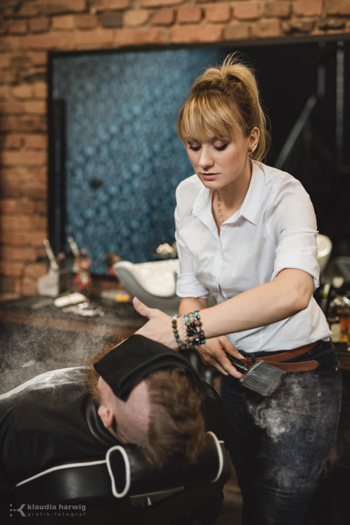 Barber w Katowicach - Sesja wizerunkowa