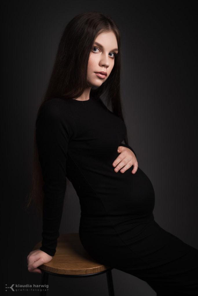 Sesja ciążowa w Będzinie